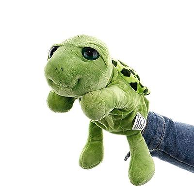 LIZHIOO Marioneta Marioneta de Mano Juguete Animal Cuento imaginativo Juguete de Peluche for niños Montessori Regalo Educativo ( Color : 2 ): Juguetes y juegos