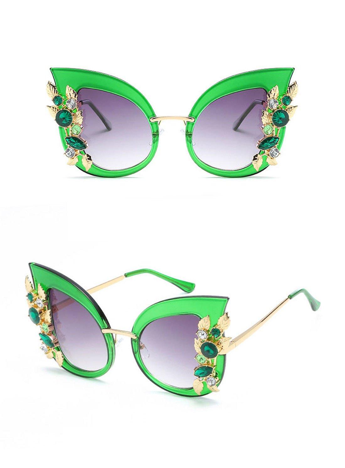 GCC Sun Mirror GCC La personnalit/é des forets Lunettes Fashion Lunettes Grand ch/âssis