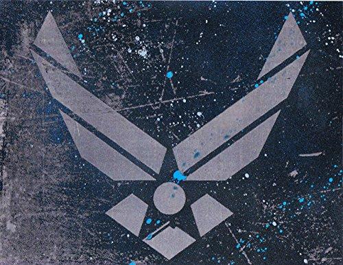 Air Force USAF Logo Symbol Metal Art ()