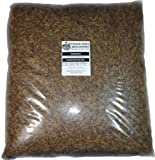 11 Lbs Tasty Worms Bulk Freeze Dried Mealworms Approx. 176,000ct, My Pet Supplies