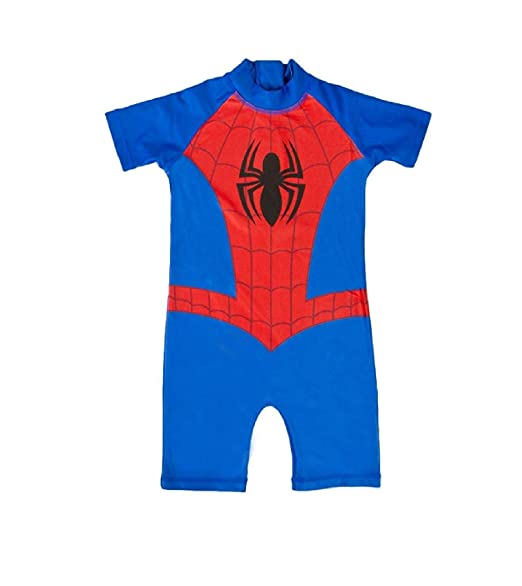AYK Traje de baño de Spiderman para niños, para Verano ...