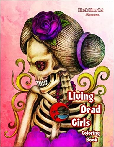 Amazon Living Dead Girls Coloring Book 9781543263336 Karlon Douglas Books