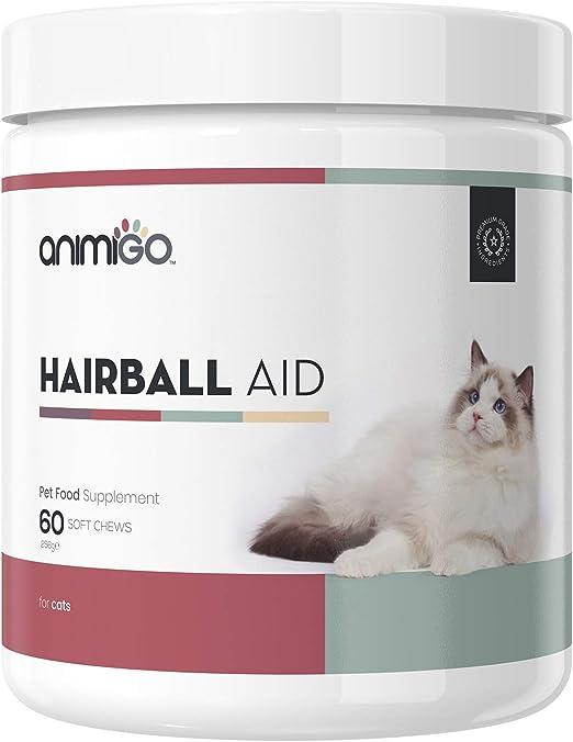 Animigo Anti Bolas de Pelo de Gatos | Suplemento Nutricional para Evitar Bolas de Pelo y