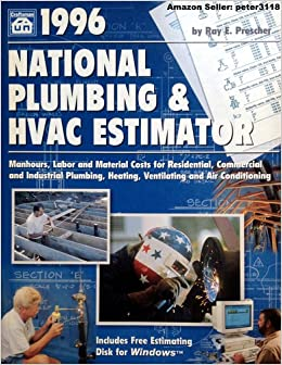 1996 national plumbing and hvac estimator disk national plumbing hvac estimator w cd ray