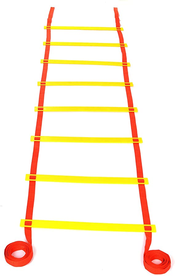 5M / 8M Escalera de Agilidad Velocidad para Futbolista Entrenamiento Fútbol (5m 8 escalones): Amazon.es: Deportes y aire libre