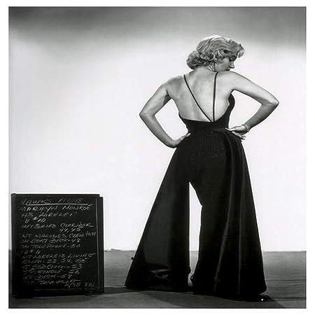 mmzki Decoración del hogar Lienzo nórdico Marilyn Monroe ...