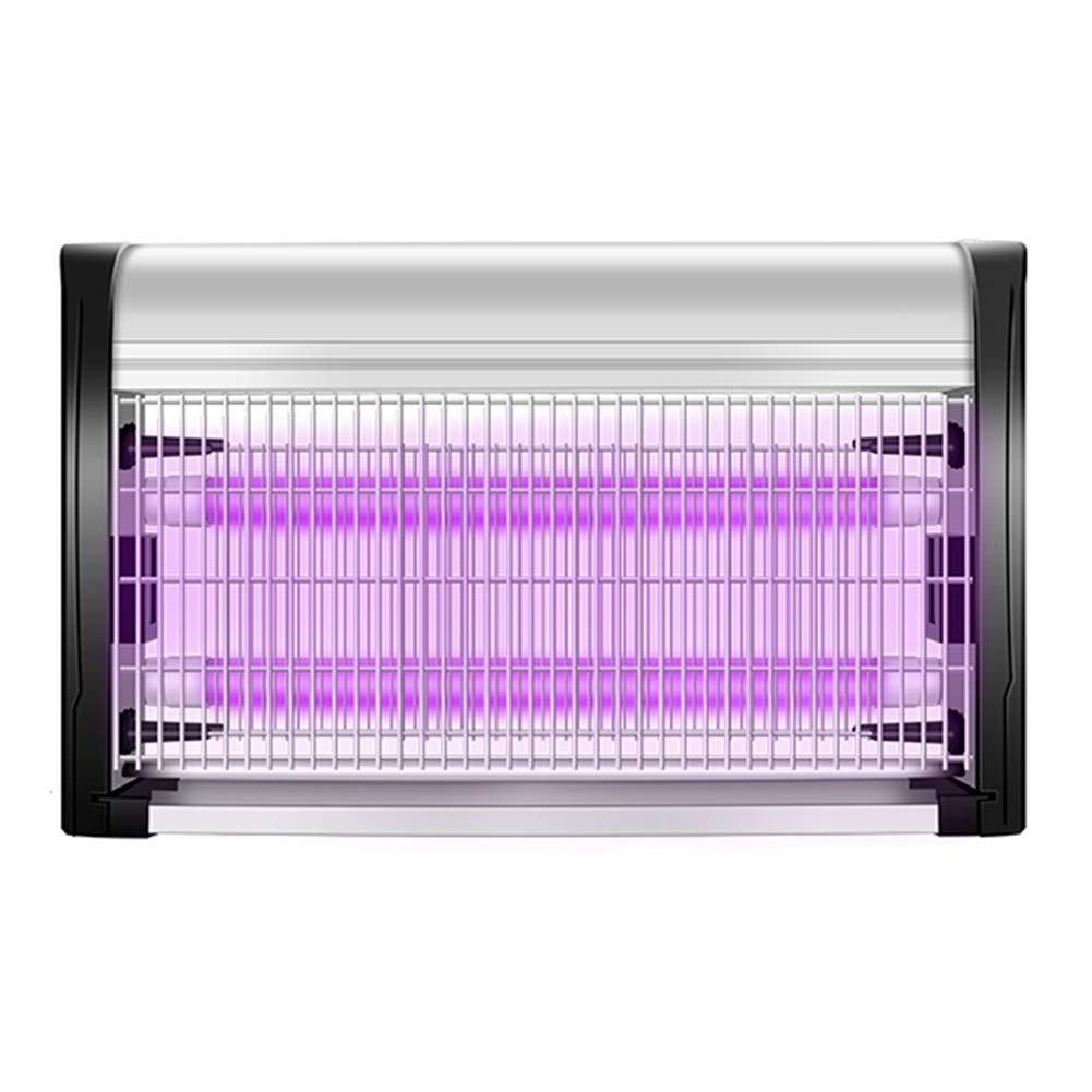 WUFENG 蚊ランプ LED ウォールマウント 電気ショック 昆虫のキラー 電気の バグザッパー 商業の 放射線フリー (色 : シルバー しるば゜, サイズ さいず : 52.5x9.5x32cm) B07QLBYYQC シルバー しるば゜ 52.5x9.5x32cm