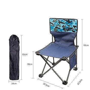 XIALIUX Sillas De Camping Plegables, Estructura Confortable ...