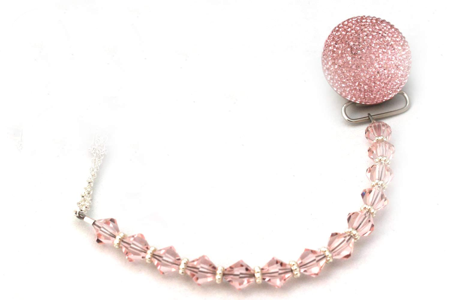 Crystal Dream Luxury Pink Swarovski Crystal Beads and Pink ...