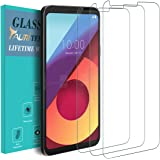 TAURI [3-PACK] For LG Q6 / LG G6 Mini / LG Q6 Plus / LG Q6a [Tempered Glass] Screen Protector with Lifetime Replacement Warranty
