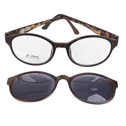 d0ce6afb5402 yodo Optical Frame with Magnetic Polarized Sunglasses for Women and Men  Driving