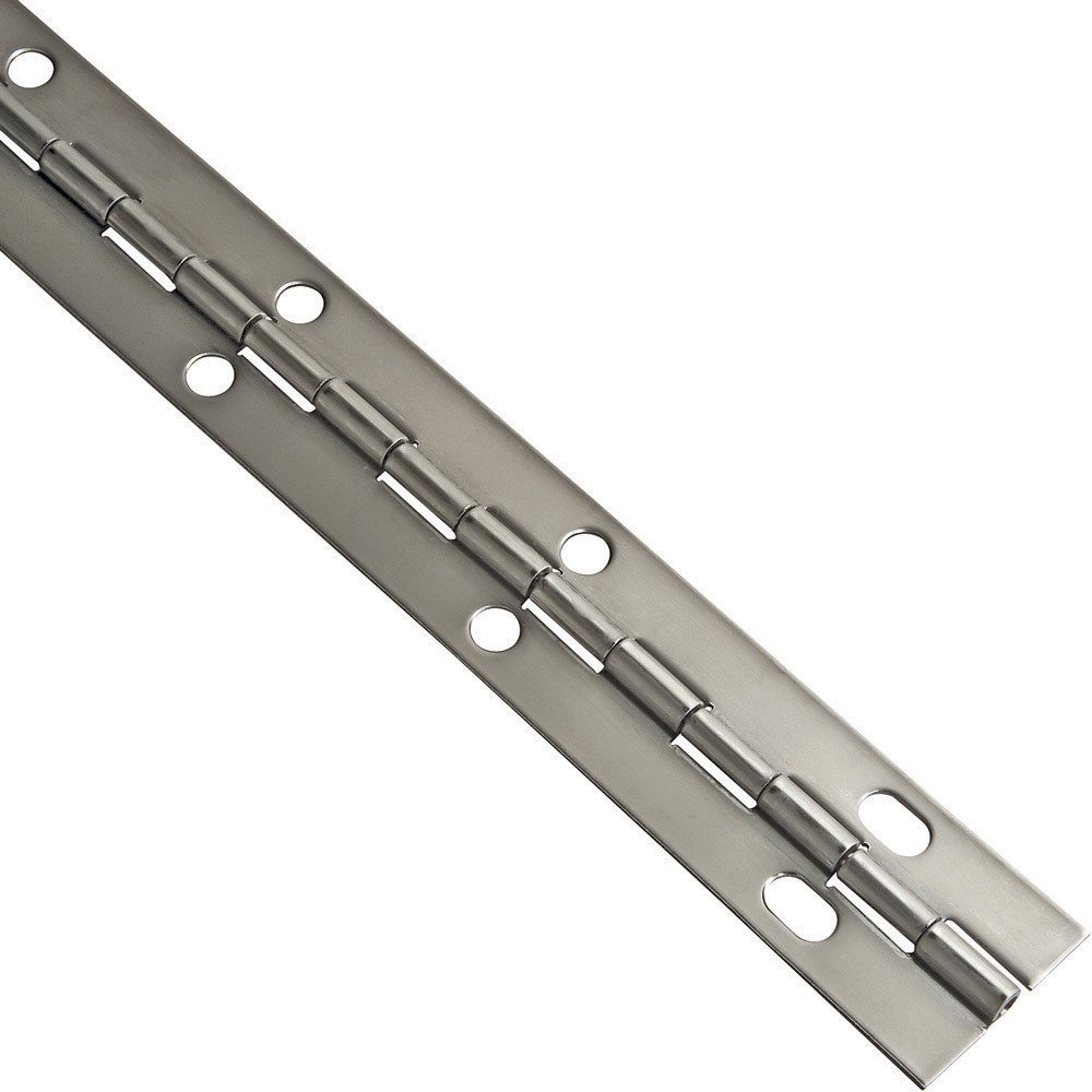 Stainless Steel Piano Hinges, 1-1/16'' W x 36'' L - Cabinet And ...