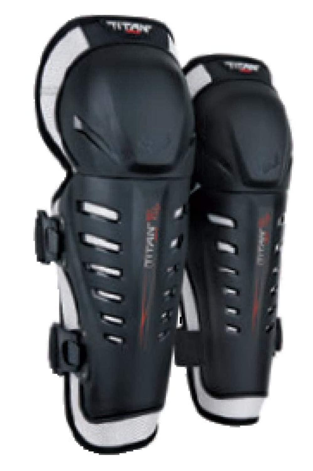 Fox Racing 2019 Titan Race Knee/Shin Guards (BLACK) 4333057137