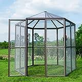 Bestmart INC Large Aluminum Bird Cage Walk in Aviary Cage Parrot (2GEN)