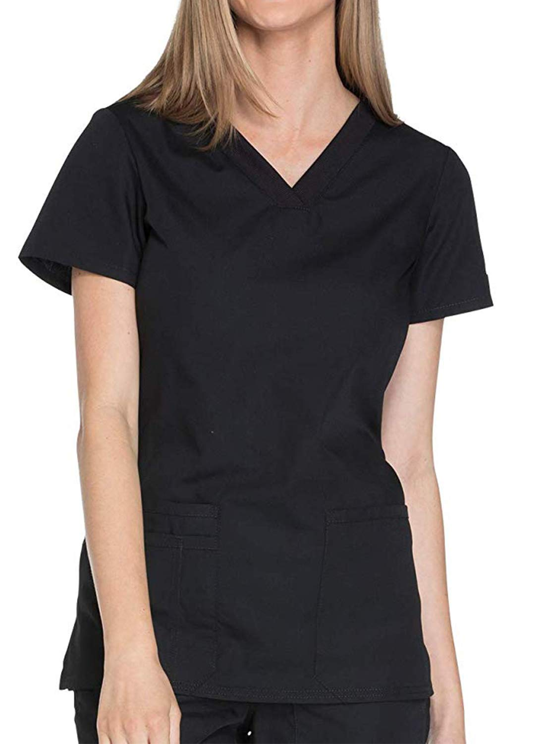 Taylover Women's Scrubs Top Nursing Scrubs Top Women Scrubs top Medical Scrub Top
