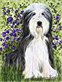 Cheap Caroline's Treasures SS8022GF Bearded Collie Flag, Small, Multicolor