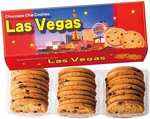 アメリカ 土産 ラスベガス チョコチップクッキー 1箱 (海外旅行 アメリカ お土産)