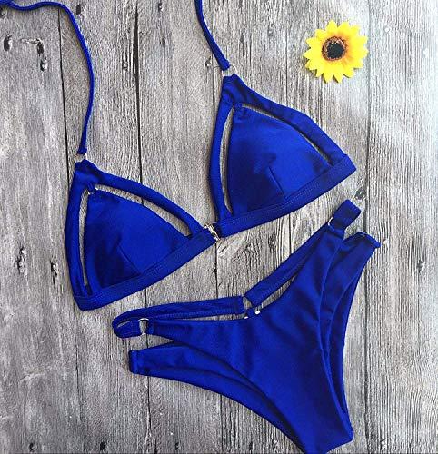 colore Blue Dimensione M Beach New Qiusa Bikini M qw1xCR
