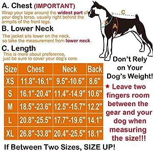 Prumya Dog Life Jacket Pet Life Vest Saver for Swimming Boating Dog Floatation Life Preserver Coat Safety Reflective Swimwear with Head Support Size Adjustable (L, Upgraded-Orange)