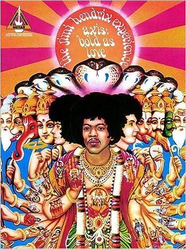 The Jimi Hendrix Experience - Axis: Bold as Love (Guitar Tabulature) – July 1, 1989