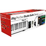 IK Multimedia iRig Pro Duo Studio Suite complete recording bundle for iPhone, iPad & Mac/PC, interface