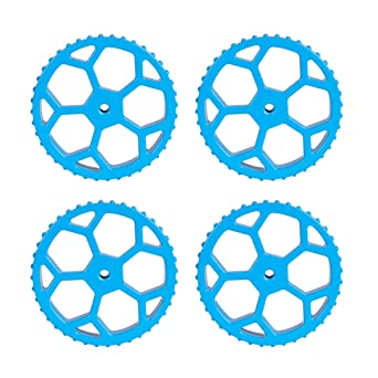 Ender 5//5 Plus//5 Pro CR-10//10S//10S Pro V2 Creality 3D Printer Upgraded 4Pcs Aluminum Hand Twist Leveling Nuts and 4Pcs Hot Bed Springs for Ender 3//3 Pro