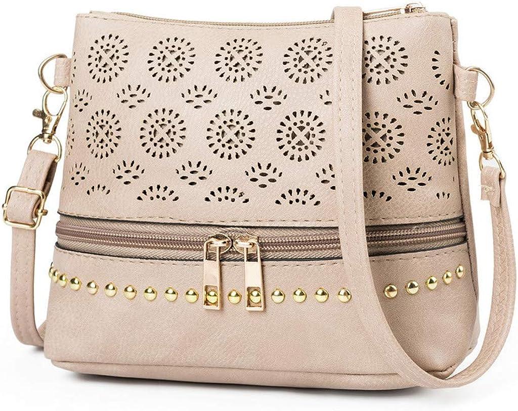 RQWEIN Womens Satchel Hobo Top Handle Tote Leather Handbag Designer Shoulder Purse Bucket Crossbody Bag