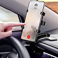 Car Phone Mount 360 Degree Rotation Dashboard Cell Phone Holder for Car Clip Mount Stand Suitable for 4 to 7 inch…