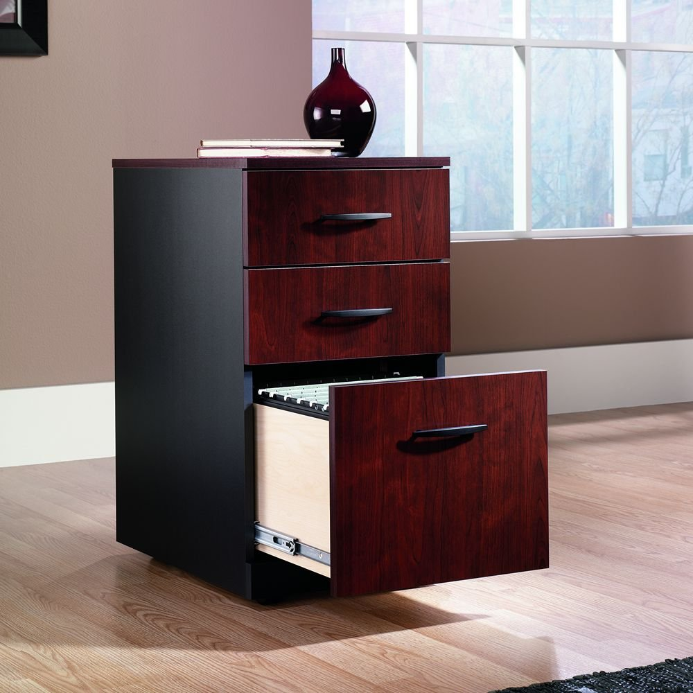 Amazon.com: Via 3-Drawer Mobile Pedestal: Home & Kitchen