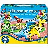 Orchard Toys Dinosaur Race - Juego de mesa de carreras con dinosaurios