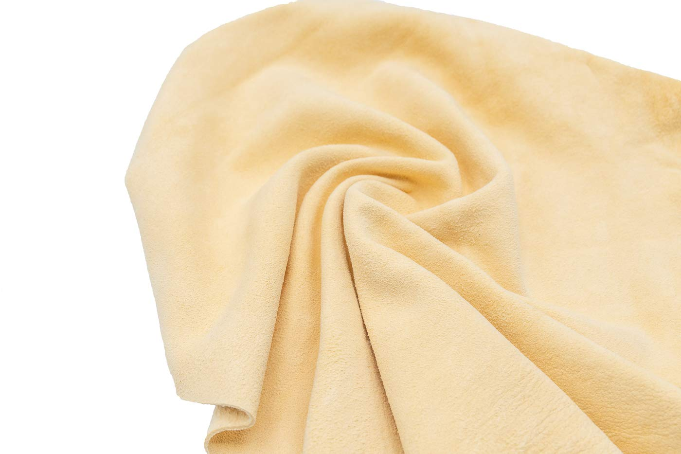 f/ür die K/üche f/ür Fenster /& Vieles mehr Fensterleder aus echtem Leder das Bad hochwertiges Autoleder-Tuch geeignet f/ür das Auto