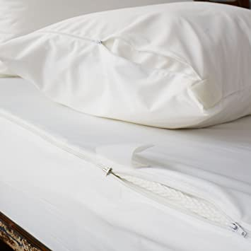 Bed Bug Mattress Cover.Soak Sleep Ultimate Water Resistant Anti Bed Bug Mattress