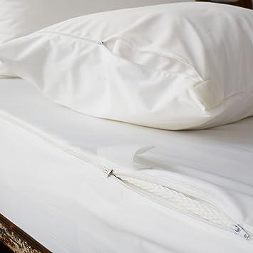 Bed Bug Mattress Cover.Soak Sleep Ultimate Water Resistant Anti Bed Bug Mattress Encasement Double