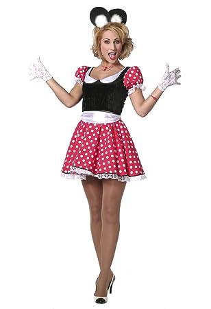 Damen Kostum Susse Comic Maus Lady Karneval Fasching Gr 36 Amazon De