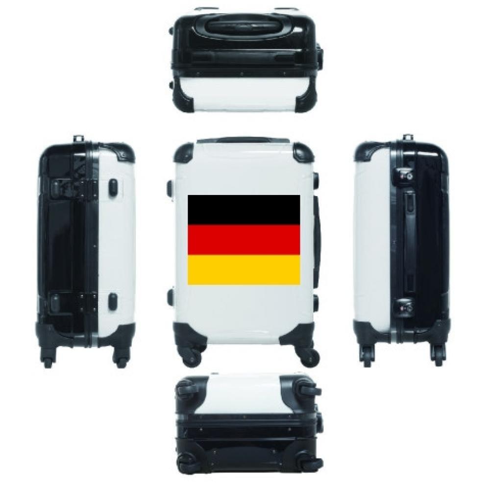 (クラブティー) ClubT ドイツの国旗ー横 ー両面プリント キャリーバッグ(31L) 31L   B0788Z188B