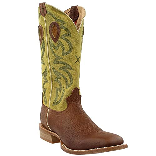 9c2f13fe01e Amazon.com | Twisted X Men's Ruff Stock Cowboy Boot Square Toe ...