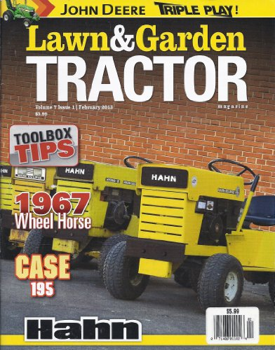 Toro Lawn Garden Tractors (Lawn & Garden Tractor Magazine (February)