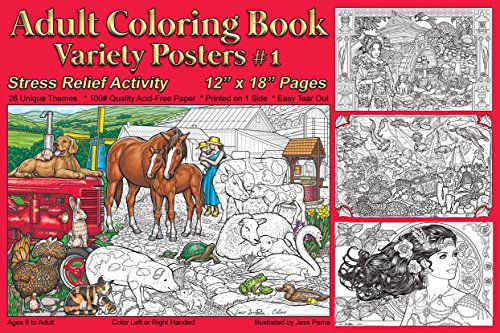 adult posters to color