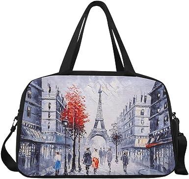 Weekender Bag INTERESTPRINT Basketball Players Travel Duffel Bag
