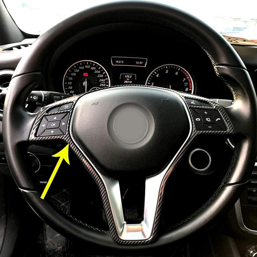 Gaetooely Auto Lenk Rad Rahmen Zierblende F/ür Mercedes A B C E Cla CLS Gla Glk Class W176 W246 W204 W207