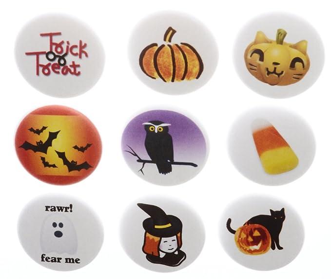 Amazon com: Set 9 Classic Halloween Cute 1 25