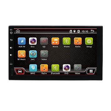 Estéreo para Auto con Doble Dinar, Radio Android 7.1 2G 16G con cámara Trasera,