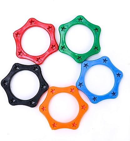 IDS - Pack de 20 Anillos de protección de Goma para micrófono de Mano inalámbrico para Equipos KTV, 5 Colores: Amazon.es: Hogar