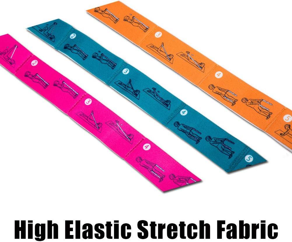 Calisthenics et Plus Stretching Gym GFYEE Elastiband Bande /Élastique de R/ésistance Bandes /Élastiques en Latex pour Fitness