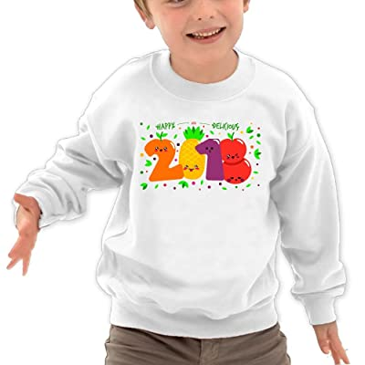 2018 Fruit Party Lovely Cotton Pullover Hoddies Sweater For Kid Child Boy Girl