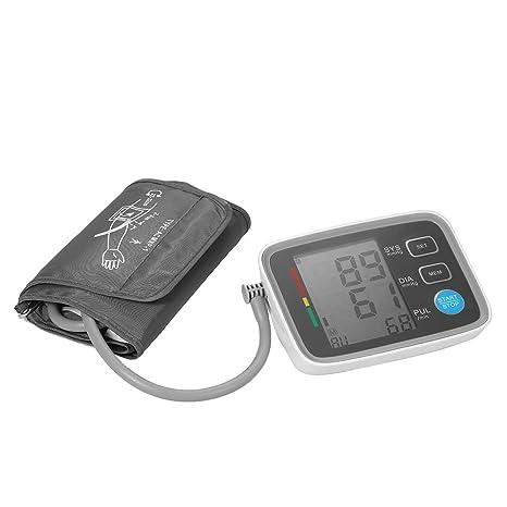 AlphaMed LCD Monitor de presión arterial de brazo superior con ...