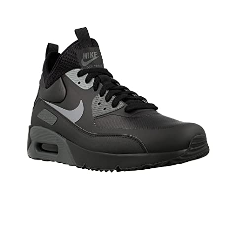 Nike AIR MAX 90 Ultra Mid Inverno Nero Grigio Antracite Cool UK taglia 10 924458 002