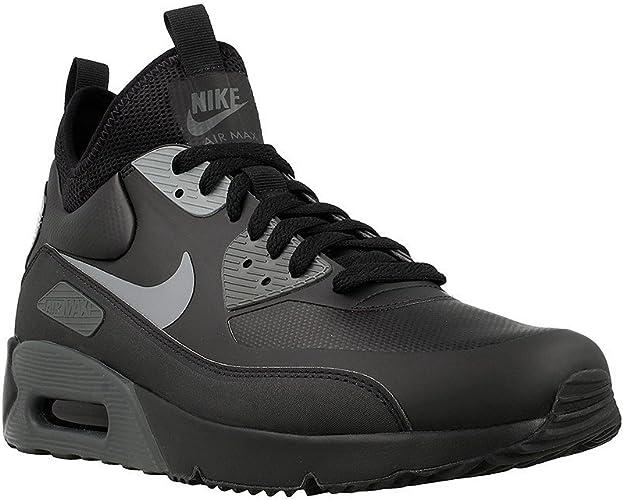 Sótano Suyo Alerta  Nike Herren Air Max 90 Ultra Mid Winter Schwarz Synthetik/Textil  Winterschuhe 45.5: Amazon.de: Schuhe & Handtaschen