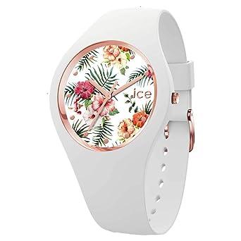 01dbe5ca9efd7 Ice-Watch Femmes Analogique Quartz Montre avec Bracelet en Silicone 016661:  Amazon.fr: Montres