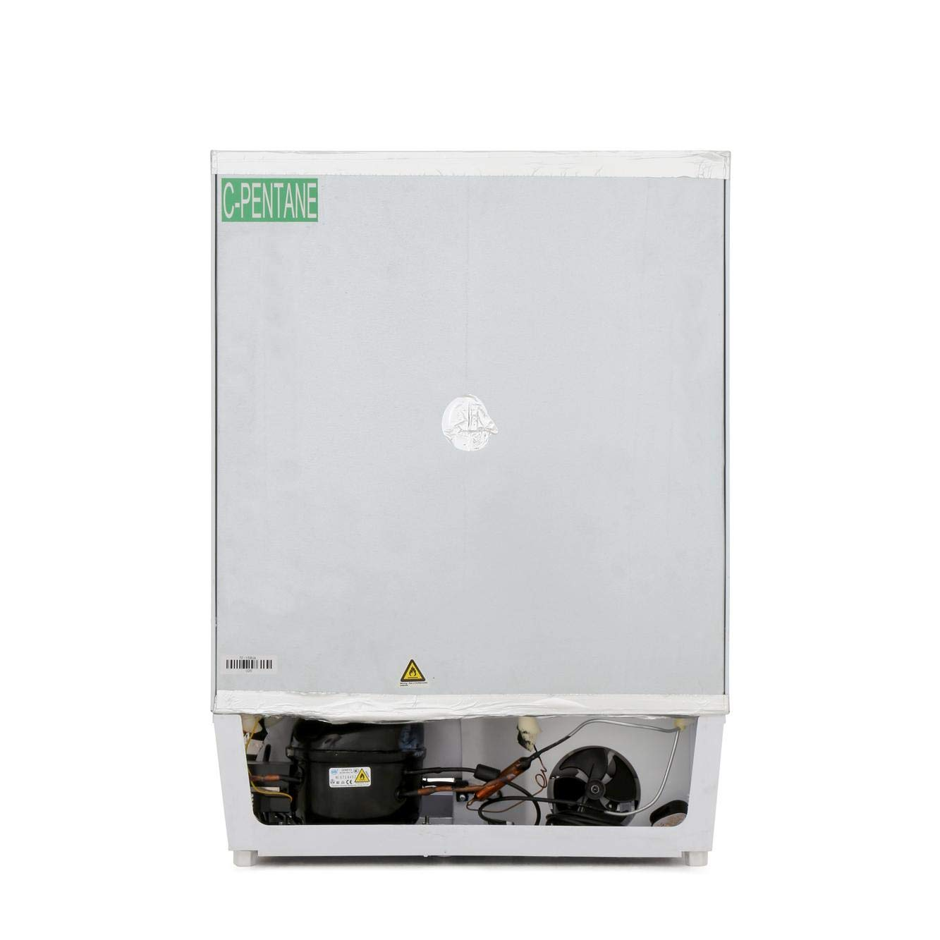 White Hoover HBFUP130NK 95 Litre Under Counter Integrated Freezer